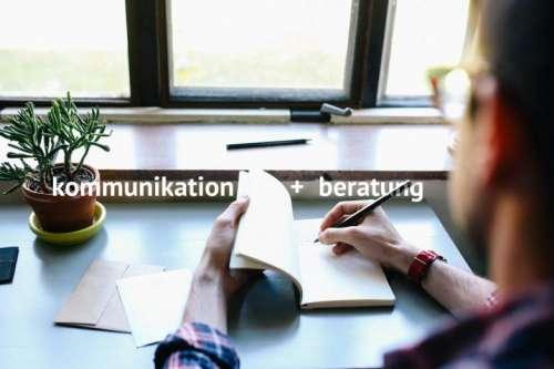 Kommunikation + Beratung